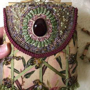 Mary Frances Vintage Style Beaded Purse Handbag